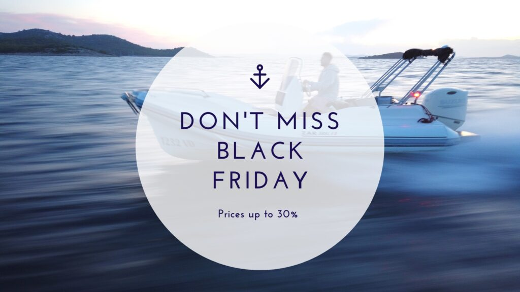 Black friday in triM-Nautica-Charter