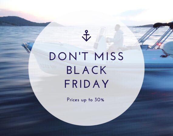 Black friday in triM-Nautica-Charter