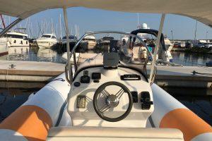 Charter-rent a boat- Boat BAT 745- croatia biograd